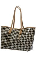 Sw3 Modern Craft Lulù Tote Bagleather and Pied De Poule - Lyst