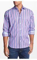 Bugatchi Regular Fit Sport Shirt - Lyst