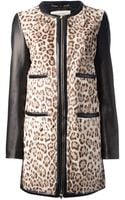 Emilio Pucci Leopard Print Coat - Lyst