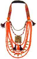 Sweetlime Orange Sun Necklace - Lyst