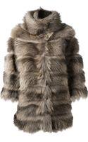 S.w.o.r.d Racoon Fur Coat - Lyst