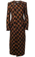 Junya Watanabe Checked Tweed Coat - Lyst