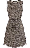Oasis Animal Stripe Skater Dress - Lyst