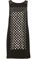 French connection Check Mate Sequin Dress - Lyst