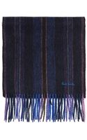 Paul Smith Lambwool College Striped Scarf - Lyst