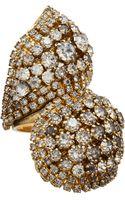 Erickson Beamon Crystal Large Hello Sweetie Ring - Lyst
