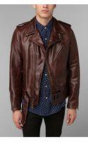 Urban Outfitters Schott Moto Leather Jacket - Lyst