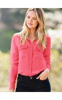 Victoria's Secret The Silk Shirt - Lyst
