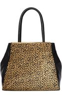 Vince Camuto Kyla Leather Hair Calf Tote Bag - Lyst