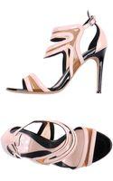 McQ by Alexander McQueen High-heeled Sandals - Lyst
