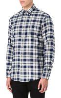 Ralph Lauren Checked Button Down Shirt - Lyst