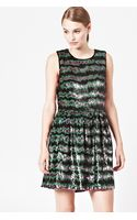 French connection Siberian Stripe Sequin Dress - Lyst