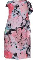 Pinko Short Dress - Lyst