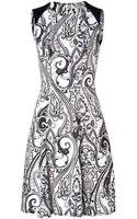 Etro Paisley Patterned Viscose Dress - Lyst