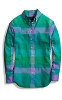 Coach Cotton Voile Boy Shirt - Lyst