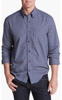 Cutter & Buck Robson Check Regular Fit Sport Shirt - Lyst