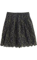 J.Crew Lace Skirt - Lyst