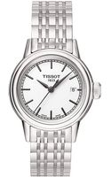 Tissot Ladies Carson Stainless Steel Watch - Lyst