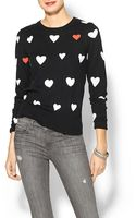 French Connection Heart Knits Sweater - Lyst