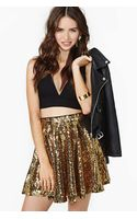 Nasty Gal Rare London Watch Me Dance Sequin Skirt - Lyst