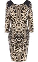 Oasis Tribal Bodycon Dress - Lyst