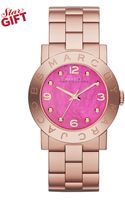 Marc By Marc Jacobs Amy Rose Gold-Tone Stainless Steel Bracelet Watch 36mm - Lyst