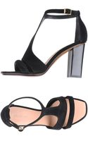 Celine High-Heeled Sandals - Lyst