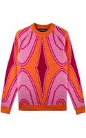 House Of Holland Rave Wave Jumper - Lyst