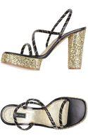 Marc Jacobs Platform Sandals - Lyst