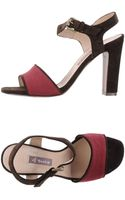 A Trois Highheeled Sandals - Lyst