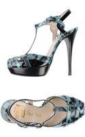 Ernesto Esposito Platform Sandals - Lyst