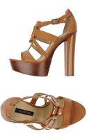Rachel Zoe Platform Sandals - Lyst