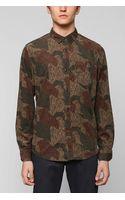 Urban Outfitters Cpo Camo Corduroy Button down Shirt - Lyst
