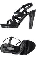 Vic Platform Sandals - Lyst