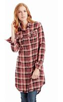 Free People Plaid Buttonup Top - Lyst