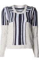 Michael Van Der Ham Trompe Loeil Sweater - Lyst