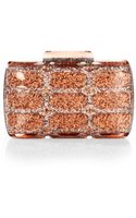 Gucci Aristographic Glittered Plexiglass Evening Clutch - Lyst
