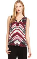 Kenneth Cole Becka Patterned Blouse - Lyst