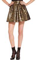 Teen Vogue Mini Skirt - Lyst