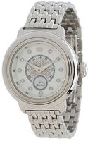 Glam Rock 40mm Stainless Steel Watch with Diamond Dial and 7link Bracelet - Lyst