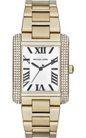 Michael Kors Jewel-encrusted Square Watch - Lyst