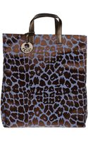 Fendi Large Fabric Bag - Lyst