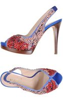 Fendi Platform Sandals - Lyst