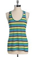 C&c California Last Stop Striped Hilo Tank Top - Lyst