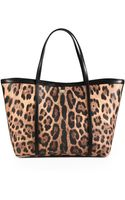Dolce & Gabbana Miss Sicily Leopardprint Satchel - Lyst