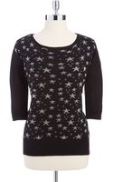Guess Hilo Intarsia Sweater - Lyst
