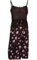 Nina Ricci Kneelength Dress - Lyst
