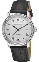 Frederique Constant Croc-embossed Leather Strap Watch - Lyst