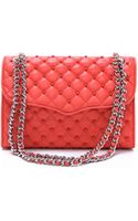 Rebecca Minkoff Studded Quilted Affair Bag - Lyst