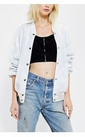 Urban Outfitters Civil Athletic Mesh Bomber Jacket - Lyst